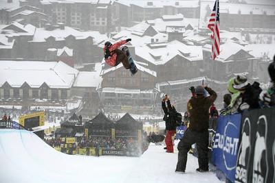 Steve Fisher U.S. Snowboarding Grand Prix Copper Mountain, CO Dec. 12-13, 2008 Photo © Wendy Turner