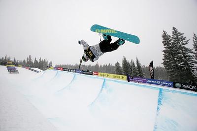 Louie Vito U.S. Snowboarding Grand Prix Copper Mountain, CO Dec. 12-13, 2008 Photo © Wendy Turner