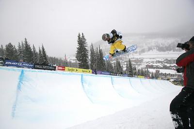 Kaitlyn Farrington U.S. Snowboarding Grand Prix Copper Mountain, CO Dec. 12-13, 2008 Photo © Wendy Turner