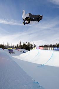 Andy Finch Photo ©Tom Zikas  U.S. Snowboarding Grand Prix  December 12–13, 2008