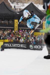 Madeline Schaffrick Photo ©Tom Zikas  U.S. Snowboarding Grand Prix  December 12–13, 2008