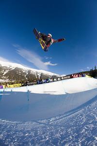 Dylan Bidez Photo ©Tom Zikas  U.S. Snowboarding Grand Prix  December 12–13, 2008