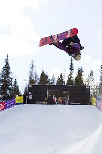 Gretchen Bleiler Photo ©Tom Zikas  U.S. Snowboarding Grand Prix  December 12–13, 2008