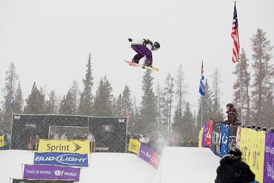 Mason Aguirre Photo ©Tom Zikas  U.S. Snowboarding Grand Prix  December 12–13, 2008