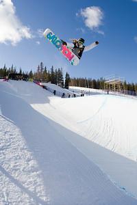 Jamie Anderson Photo ©Tom Zikas  U.S. Snowboarding Grand Prix  December 12–13, 2008