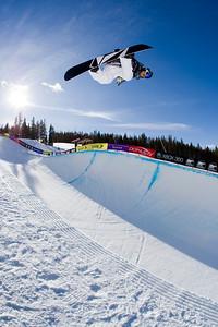 Elena Hight Photo ©Tom Zikas  U.S. Snowboarding Grand Prix  December 12–13, 2008
