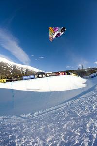 Mason Agurre Photo ©Tom Zikas  U.S. Snowboarding Grand Prix  December 12–13, 2008