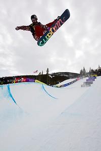 Broc Waring Photo ©Tom Zikas  U.S. Snowboarding Grand Prix  December 12–13, 2008