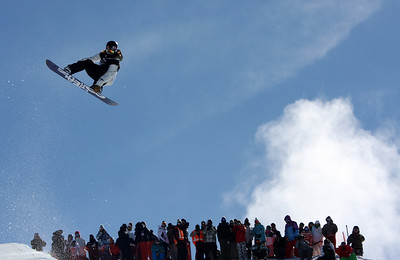 Shaun White 2009 LG Snowboarding World Cup in Cardrona  Photo © Oliver Kraus  Image may be used for editorial use only