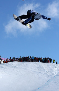 Danny Davis 2009 LG Snowboarding World Cup in Cardrona  Photo © Oliver Kraus  Image may be used for editorial use only