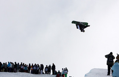 Scotty Lago 2009 LG Snowboarding World Cup in Cardrona  Photo © Oliver Kraus  Image may be used for editorial use only