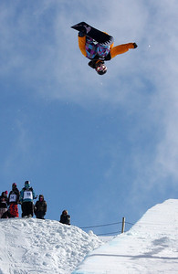 Greg Bretz 2009 LG Snowboarding World Cup in Cardrona  Photo © Oliver Kraus  Image may be used for editorial use only