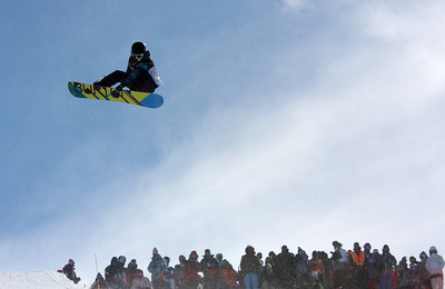 Kelly Clark 2009 LG Snowboarding World Cup in Cardrona  Photo © Oliver Kraus  Image may be used for editorial use only