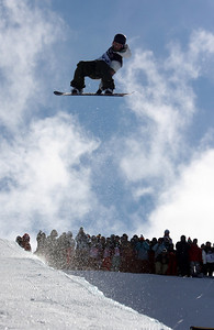 Mason Aguirre 2009 LG Snowboarding World Cup in Cardrona  Photo © Oliver Kraus  Image may be used for editorial use only