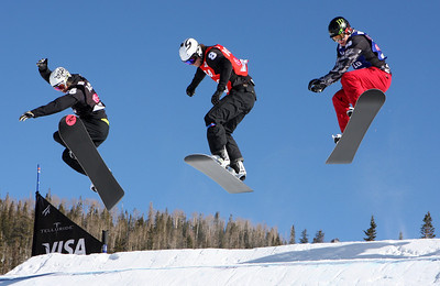 Nate Holland 2009 LG Snowboarding World Cup in Telluride, Colorado Photo © Oliver Kraus Image may be used for editorial use only.
