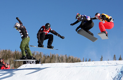 Shaun Palmer 2009 LG Snowboarding World Cup in Telluride, Colorado Photo © Oliver Kraus Image may be used for editorial use only.