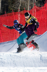 Lindsey Jacobellis 2009 LG Snowboarding World Cup in Telluride, Colorado Photo © Oliver Kraus Image may be used for editorial use only.