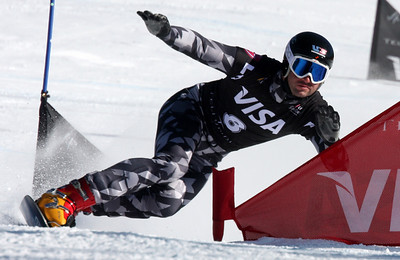 Adam Smith 2009 LG Snowboarding World Cup in Telluride, Colorado Photo © Oliver Kraus Image may be used for editorial use only.