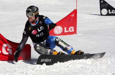 Chris Klug 2009 LG Snowboarding World Cup in Telluride, Colorado Photo © Oliver Kraus Image may be used for editorial use only.