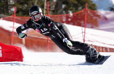 Lynn Ott 2009 LG Snowboarding World Cup in Telluride, Colorado Photo © Oliver Kraus Image may be used for editorial use only.