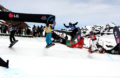 2009 LG Snowboarding FIS SBX World Cup - Chapelco