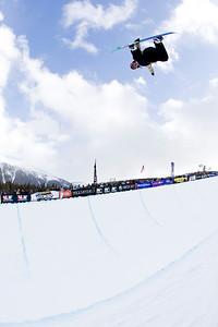 Elija Teter 2009 Sprint U.S. Snowboarding Grand Prix at Photo © Tom Zikas