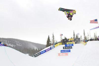 Gretchen Beiler 2009 Sprint U.S. Snowboarding Grand Prix at Copper Photo © Tom Zikas