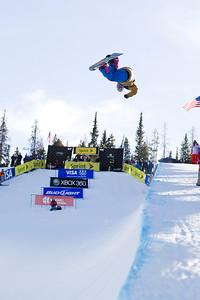 Greg Bretz 2009 Sprint U.S. Snowboarding Grand Prix at Copper Photo © Tom Zikas