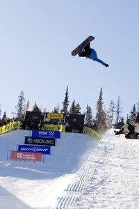 Kevin Pearce 2009 Sprint U.S. Snowboarding Grand Prix at Photo © Tom Zikas
