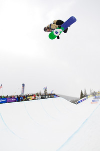 Elijah Teter 2009 Sprint U.S. Snowboarding Grand Prix at Photo © Tom Zikas