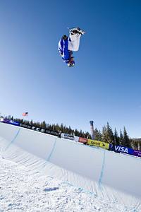 Ben Watts 2009 Sprint U.S. Snowboarding Grand Prix at Photo © Tom Zikas