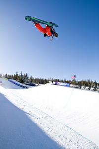 Andy Finch 2009 Sprint U.S. Snowboarding Grand Prix at Photo © Tom Zikas