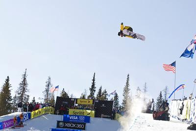 Danny Davis 2009 Sprint U.S. Snowboarding Grand Prix at Photo © Tom Zikas