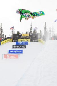 Clair Bidez 2009 Sprint U.S. Snowboarding Grand Prix at Photo © Tom Zikas