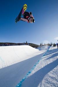 Gretchen Bleiler 2009 Sprint U.S. Snowboarding Grand Prix at Copper Photo © Tom Zikas