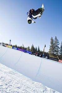 Louie Vito 2009 Sprint U.S. Snowboarding Grand Prix at Photo © Tom Zikas