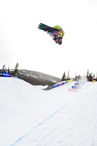 Gretchen Bleiler 2009 Sprint U.S. Snowboarding Grand Prix at Photo © Tom Zikas