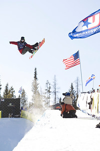 Broc Warring 2009 Sprint U.S. Snowboarding Grand Prix at Photo © Tom Zikas