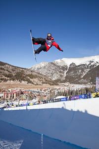 Dylan Bidez 2009 Sprint U.S. Snowboarding Grand Prix at Photo © Tom Zikas