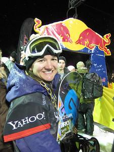 Kelly Clark at the Sprint U.S. Snowboarding Grand Prix at Park City Mountain Resort in Utah. Photo: Jen Desmond/U.S. Snowboarding