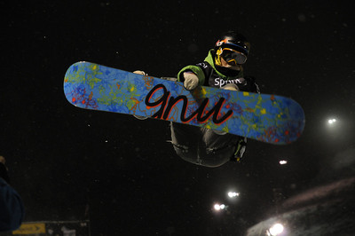 Halfpipe competition in the Sprint U.S. Snowboarding Grand Prix at Park City Mountain Resort in  Utah. (U.S. Snowboarding/Tom Kelly)