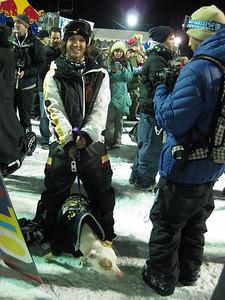 Louie Vito at the Sprint U.S. Snowboarding Grand Prix at Park City Mountain Resort in Utah. Photo: Jen Desmond/U.S. Snowboarding