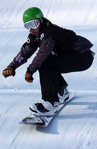 Jonathan Cheever 2010 LG Snowboarding World Cup in Stonham Photo © Oliver Kraus/FIS