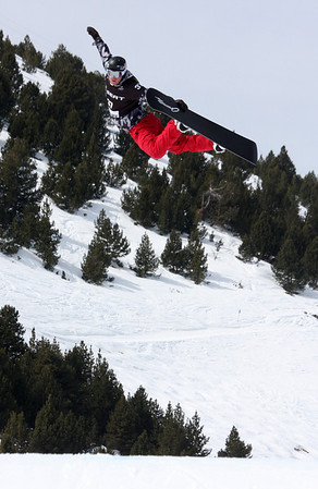 2010 LG Snowboarding FIS SBX World Cup - La Molina, Spain