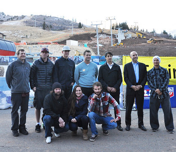 2010 Sprint U.S. Snowboarding Grand Prix at the Canyons Announcement Peter Foley, Pat Holland, JJ Tomlinson, Todd Burnette, Jonathan Cheever, Andrew Judelson, Graham Watanabe, Shaun Palmer, Brooke Shaw, Jayson Hale November 9, 2010 Photo: Katie Perhai/U.S. Snowboarding