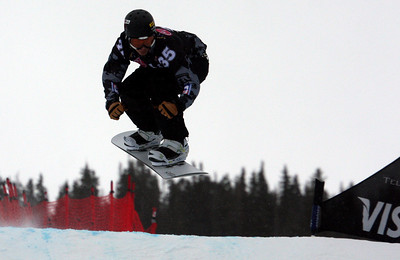 Jonathan Cheever (USA) 2010 LG Snowboard FIS World Cup SBX Telluride Photo © FIS/Oliver Kraus Image may be used for editorial purposes only.