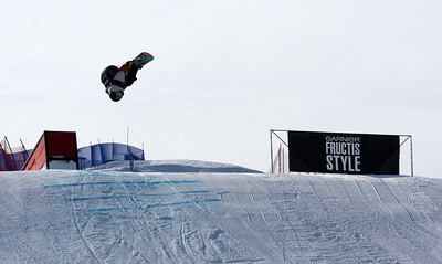 Matthew Ladley (USA) competes in Slopestyle World Cup at COP, Calgary, Canada © Oliver Kraus/FIS  Image may be used for editorial use only.