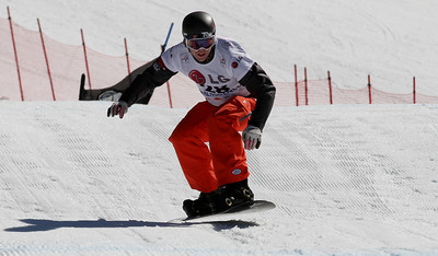 SBX World Cup Valmalenco, ITA - Race 1 - Qualifiers - Patrick Holland (USA)  Photo © Oliver Kraus. Photo may be used for editorial use only.