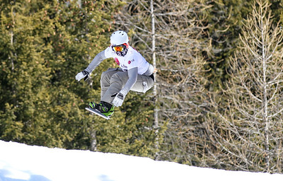 SBX World Cup Valmalenco, ITA - Race 1 - Qualifiers - Michael Perle (USA)  Photo © Oliver Kraus. Photo may be used for editorial use only.