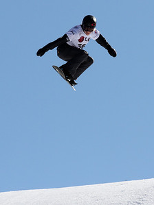 SBX World Cup Valmalenco, ITA - Race 1 - Qualifiers - Faye Gulini (USA)  Photo © Oliver Kraus. Photo may be used for editorial use only.